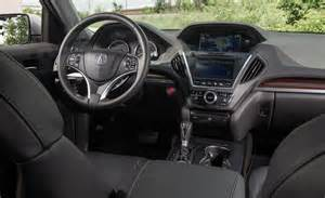 2014 acura mdx sh awd interior photo