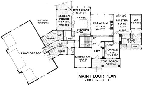 the retreat floor plans craftsman one story house plan