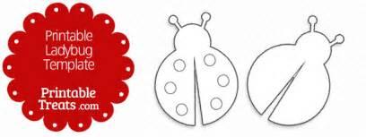 ladybug template printable ladybug template printable treats
