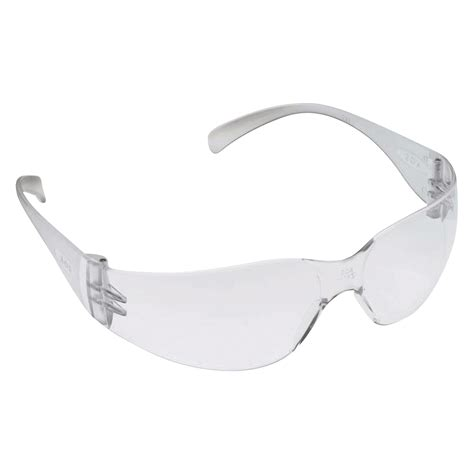 3m virtua protective safety glasses clear lens model