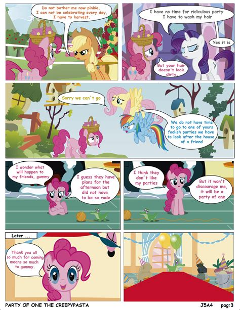 english party of one mlp creepypasta mlp party of one pag 3 creepypasta english by j5a4 on