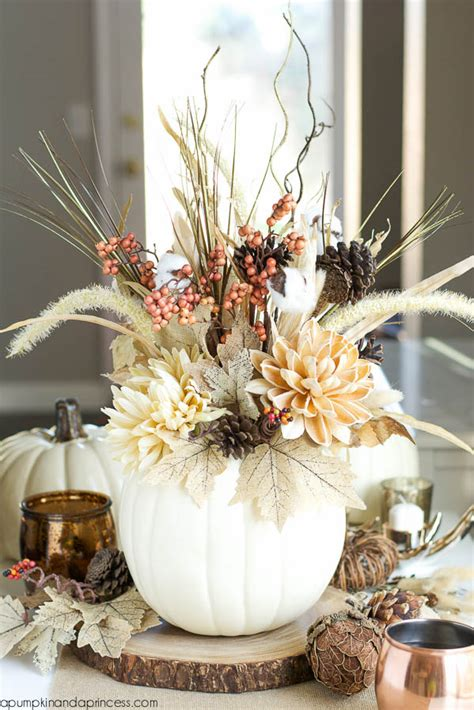 centerpiece arrangements 65 awesome pumpkin centerpieces for fall and