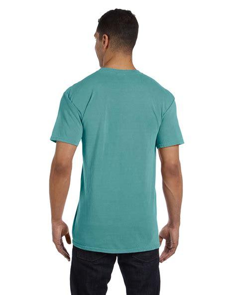 comfort colors pocket tee comfort colors 6 1 oz garment dyed pocket t shirt s 3xl m