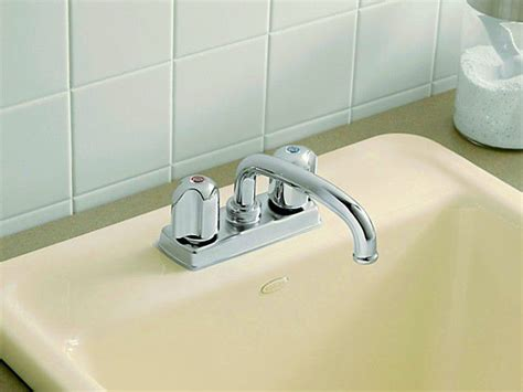 replacing washer in bathroom faucet repair a compression washer faucet