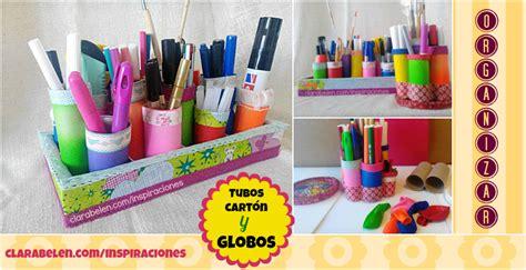 decorar escritorio manualidades inspiraciones manualidades y reciclaje organizar el