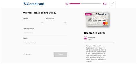 credicard facebook como funciona o credicard zero conhe 231 a o cart 227 o de