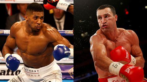 siaran tv tinju wladimir vs tyson hearn joshua klitschko rematch announcement in 3 4 weeks