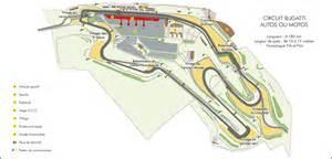 Le Mans Bugatti Circuit Click On The Plan For A Bigger Version