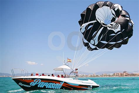 how do you say banana boat in spanish special water pack parasailing and speedboat in majorca