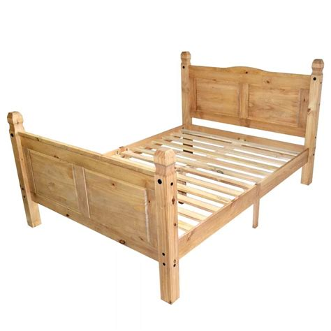 futon 140x200 vidaxl bed frame mexican pine corona range 140x200 cm