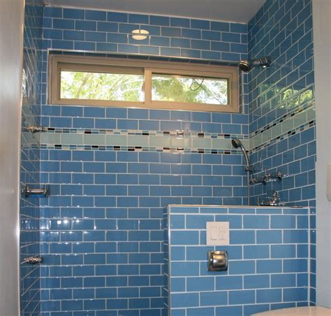 Colored Subway Tile Bathroom by Upgrade Your Monotonous Subway Tile Into A Colored Subway