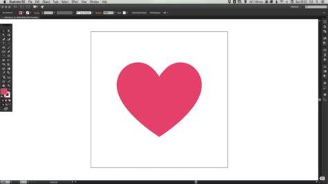 draw heart illustrator drawing the facebook heart emoji in illustrator aditya
