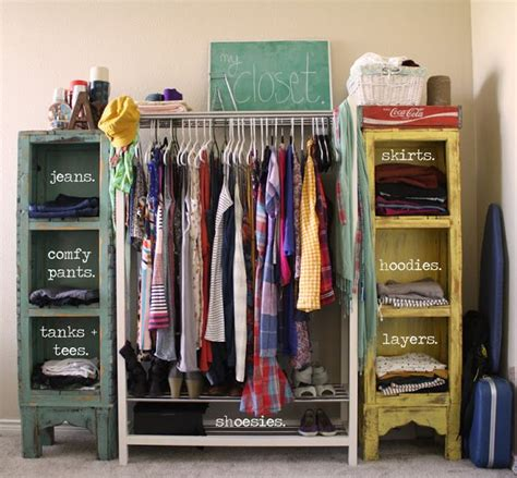 coat storage ideas small spaces 10 alternative clothing storage solutions diy closets