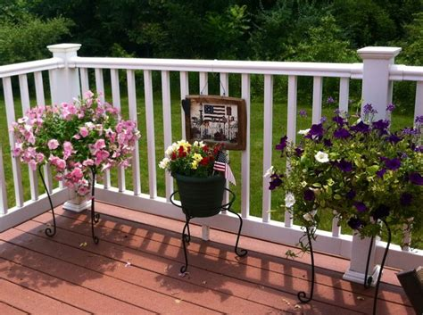 Decorating Decks by Country Cottage Deck Decor Home Update Ideas Outside