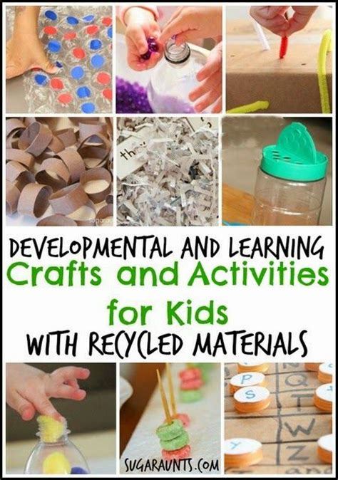 learning crafts for 17 best images about earth day recycling activities for