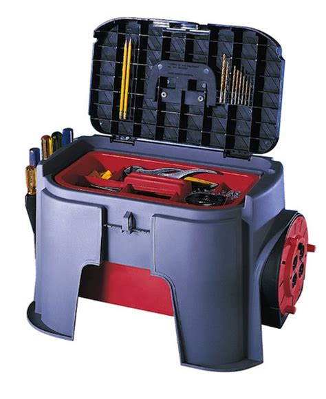 Step Stool Toolbox Combo by International Home Housewares Show Core77