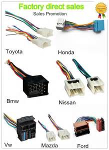 toyota car auto cd player wiring loom harness iso adapter with connector buy auto cd player