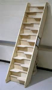 Alternate Stairs by Alternating Tread Staircases Birch 24 Spacesaver Jpg