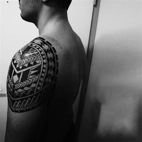 simple shoulder tattoos for men 100 maori designs for new zealand tribal ink ideas