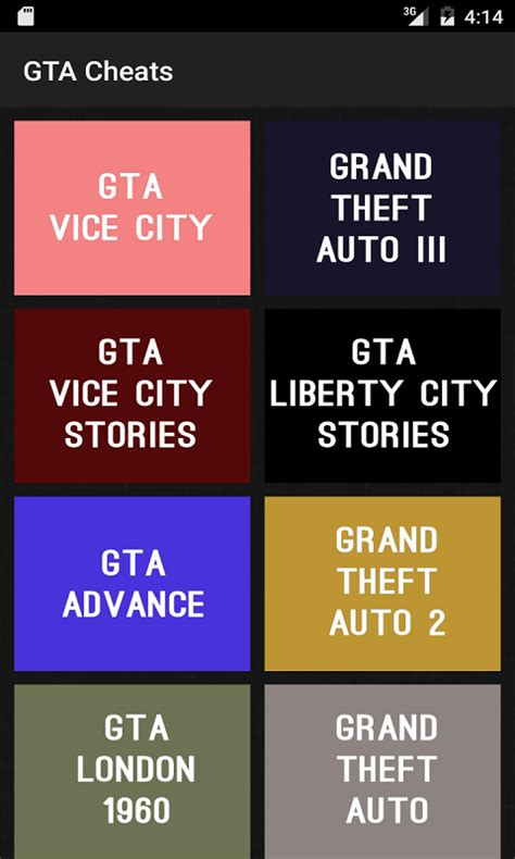 free cheaters app for android cheats for gta free app android freeware