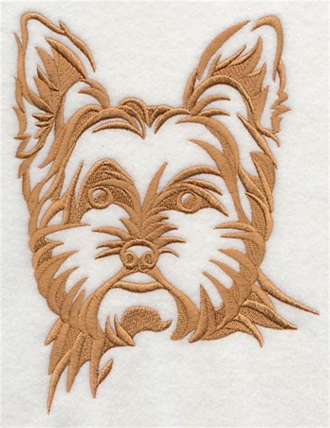 embroidery design yorkshire terrier 17 best images about dessin yorkie on pinterest
