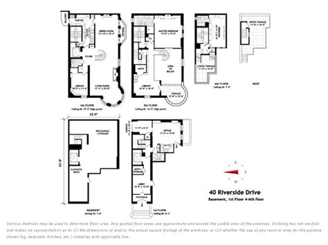 Triplex Floor Plans by World Of Architecture Charming West Side Triplex