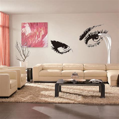 sexy home decor home decor sexy eyes wall stickers wall stickers exquisite