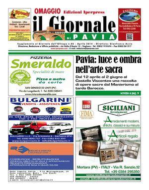 giornali pavia calam 233 o il giornale di pavia n 176 5 aprile 2014
