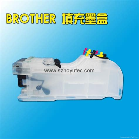 reset brother j200 newest refill ink cartridge with chip lc261 for brother