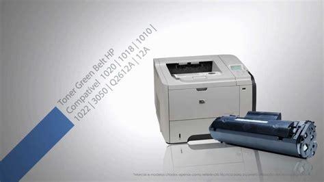 hp laserjet 1020 reset spooler toner hp 1020 1018 1010 1022 3050 q2612a 12a