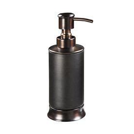 Allen Roth Oil Rubbed Bronze Soap Lotion Dispenser Allen And Roth Bathroom Accessories