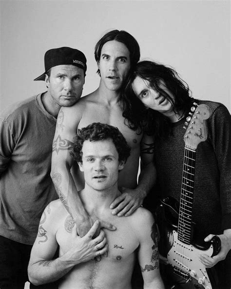 Red Hot Chili Peppers / Black & White Photography in 2019
