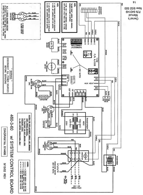 goodman gas pack wiring diagram wiring diagram with