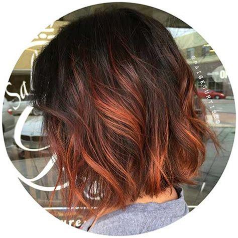 red brunette hair color over 50 20 wundersch 246 ne kurzhaarfarbe ideen smart frisuren