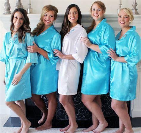 10 best Bridal Party Robes images on Pinterest   Bridal