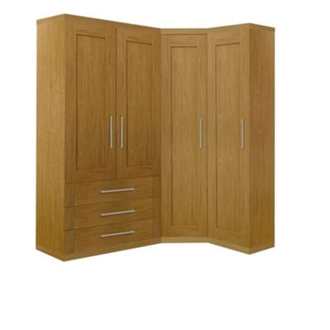 Wardrobes Homebase by Schreiber Oak Combi Wardrobe At Homebase Be