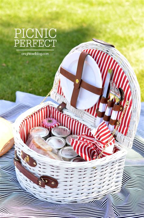 picnic basket ideas picnic ideas recipes and tips a owl