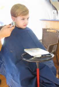boys getting haircuts preparing your child for a tonsillectomy