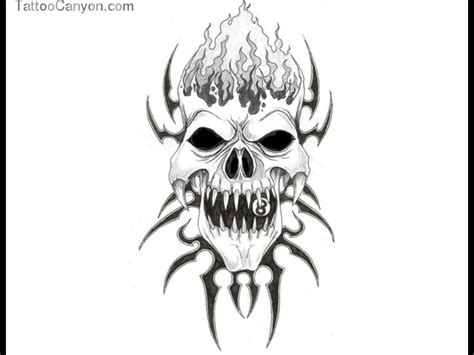 tribal joker tattoo designs skull flash images for tatouage