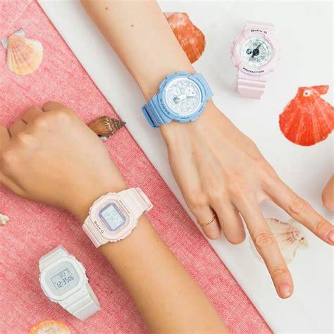 Casio Baby G Bga 150f 7a White Pink Ori baby g bga 180 bga 190 ba 110 bgd 5000 and bgd 560 colors
