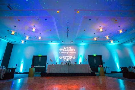 Color Wash Walls - rent wireless uplights with free shipping nationwide for weddings and events rent wireless