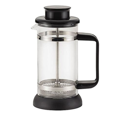 bed bath and beyond french press bonjour 174 3 cup riviera french press coaster and scoop set