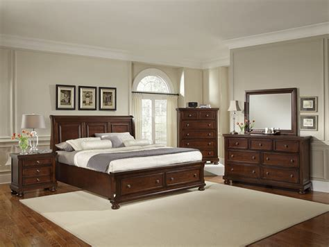 bedroom furniture discounts all american reflections sleigh storage bedroom set in