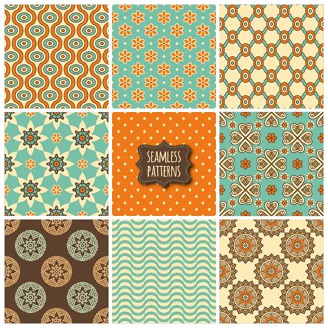 cute ethnic pattern nine cute ethnic patterns vector free download