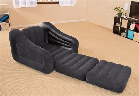 pull out chair bed intex inflatable air chair with pull out twin bed mattress