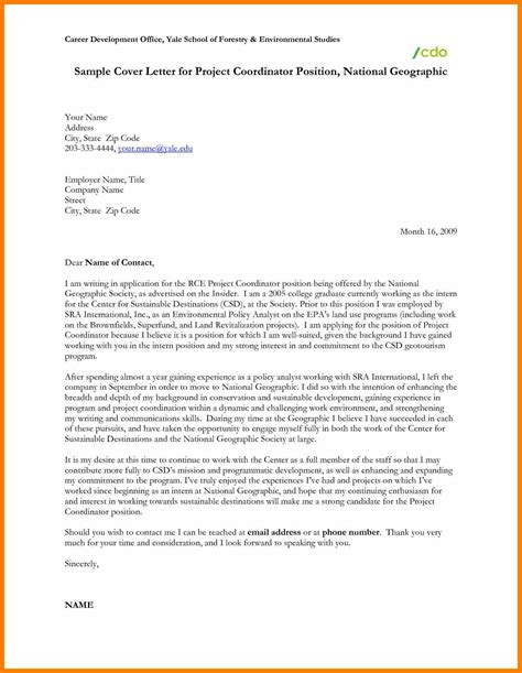 Cover Letter For In School 6 Cover Letter For School Science Resume
