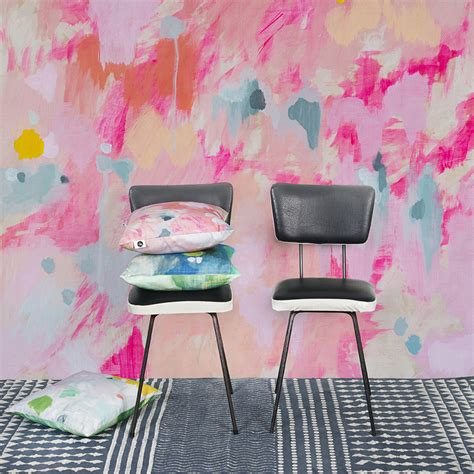 canvas directors chairs perth abstract wall with scandinavian wallpaper furnishing