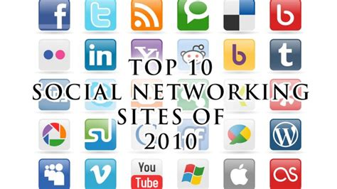 10 Best Of 2010 by Top 10 Social Networking For 2010 Techyv