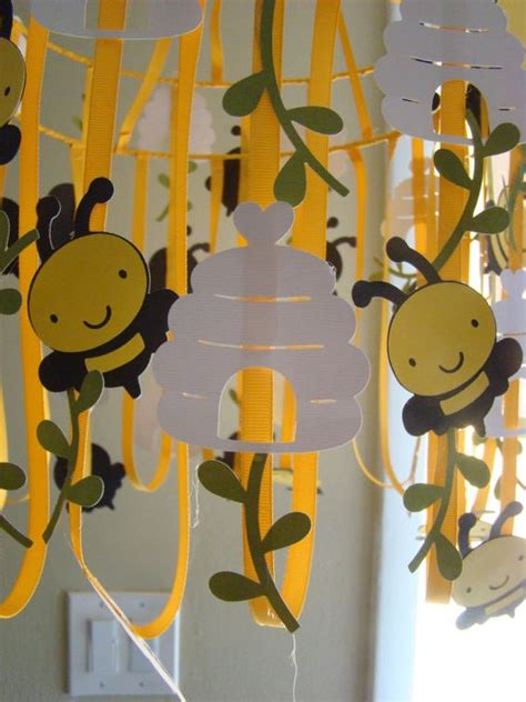 bumble decorations bumble bee birthday decoration this for around the