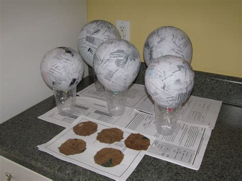 How To Make Paper Mache Decorations - adventures in craftiness crafting a cowboy paper